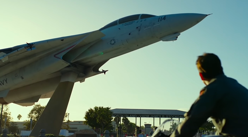 Beyond Top Gun: Maverick Trailer: the CGI'ed Gate Guardian F-14A (along with her three 'MiG-28' kills from the First Film) and Everything No One Told You About the Sequel of the 1986 Film Classic