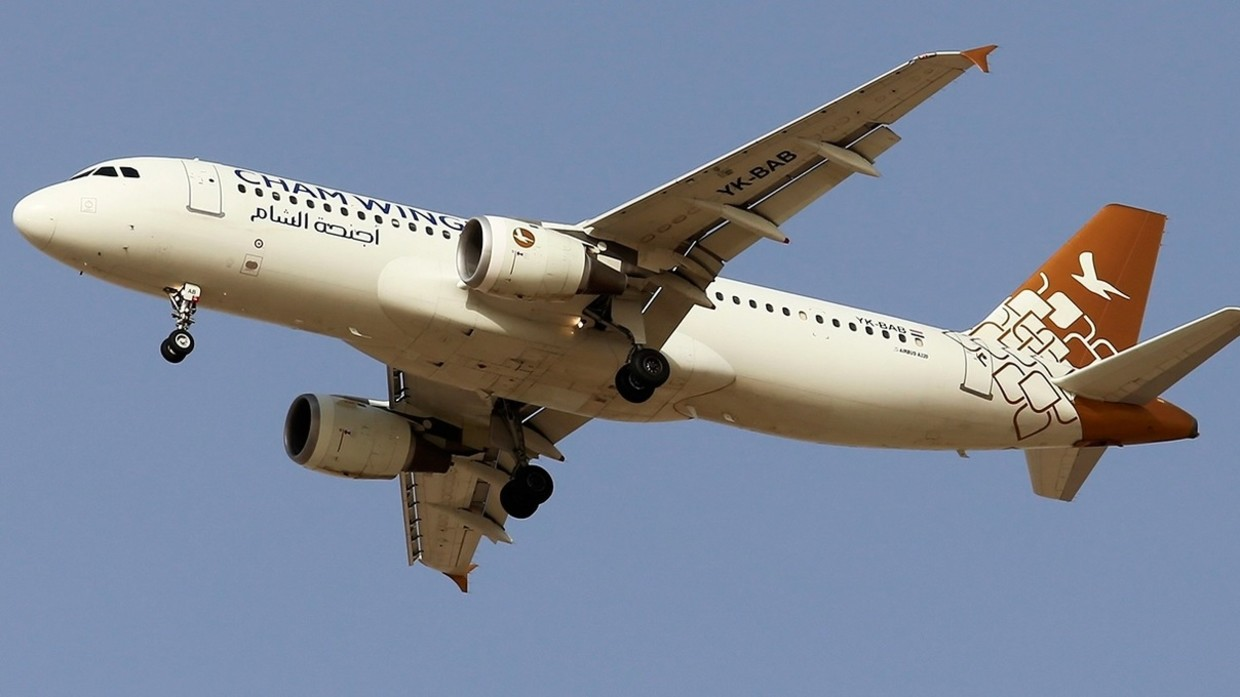 Airbus A320 with 172 People Aboard Nearly Shot Down by Syrian Air Defense During Israeli F-16 Strike