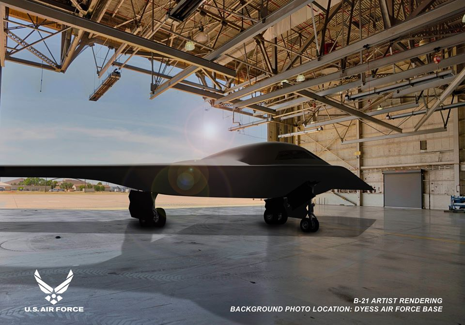 USAF Releases New Images of B-21 Raider Stealth Bomber