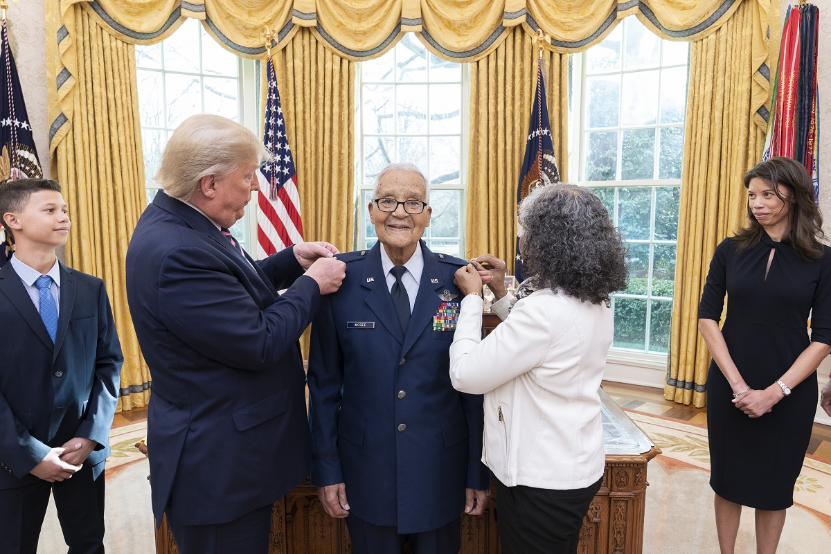 Legendary Tuskegee Airman who Flew a Record 409 Combat Missions in Three Wars Promoted to Brigadier General