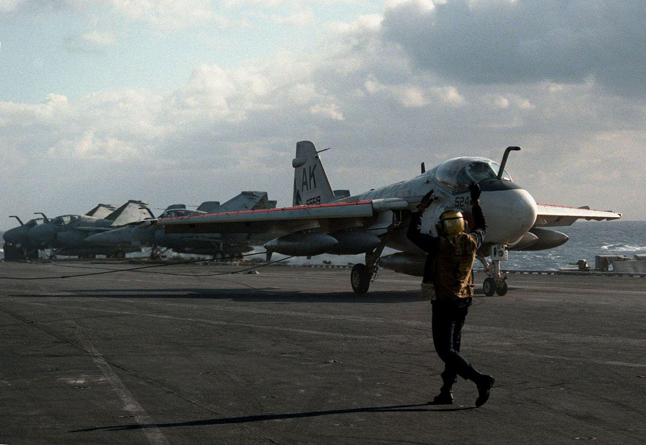 Intruders over Libya: former A-6 crew members remember their participation in Operation El Dorado Canyon