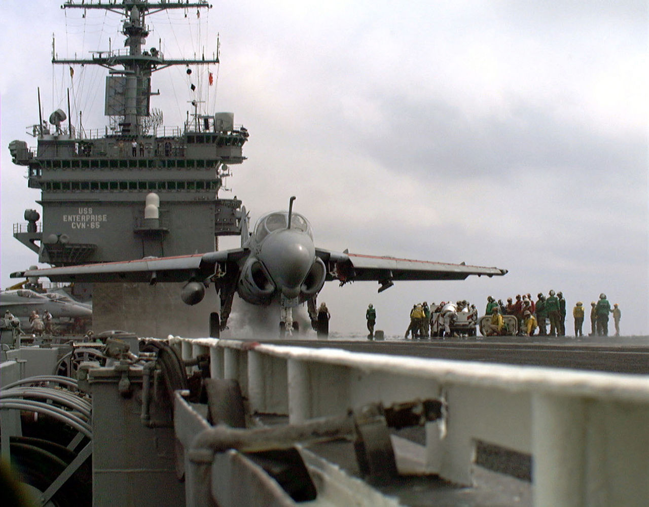 """Here's why the EA-6B Prowler had a """"nuclear trefoil nose art"""""""