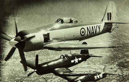Flying the Seafire: a comparison with the Vought F4U Corsair and Hawker Sea Fury