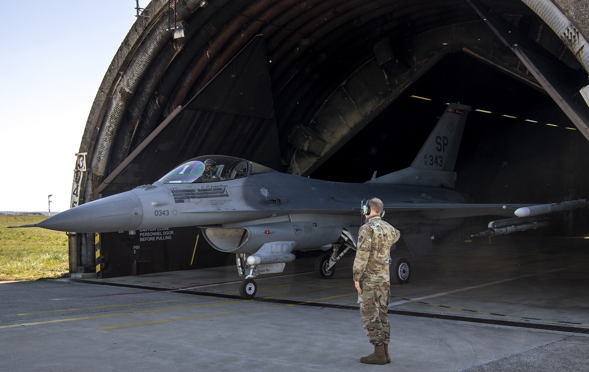 US ends Spangdahlem Air Base's Mission, moves 52nd Fighter Wing F-16s to Aviano