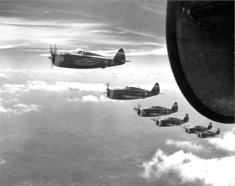 During World War II many P-47 pilots were lost in accidents while learning to fly the mighty Jug, here's why