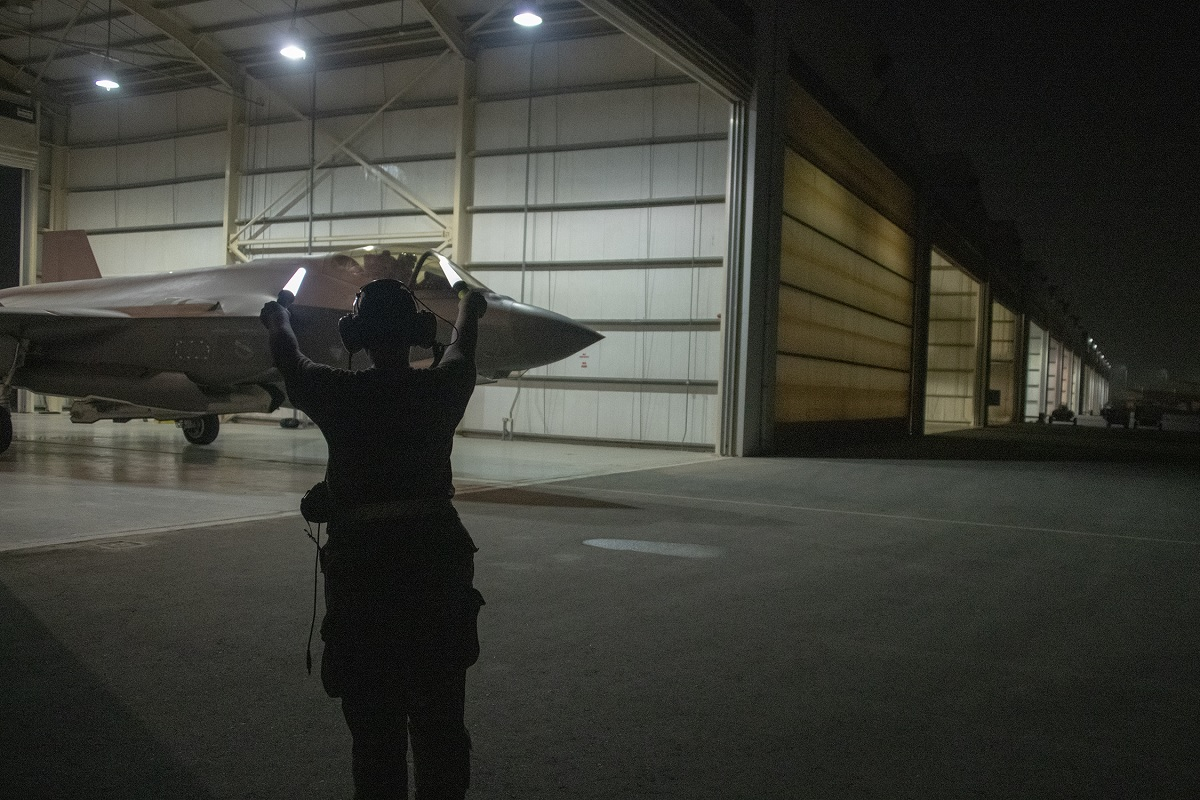 First female F-35A pilot to fly in combat launched by all-female maintenance crew for her first combat sortie in the JSF