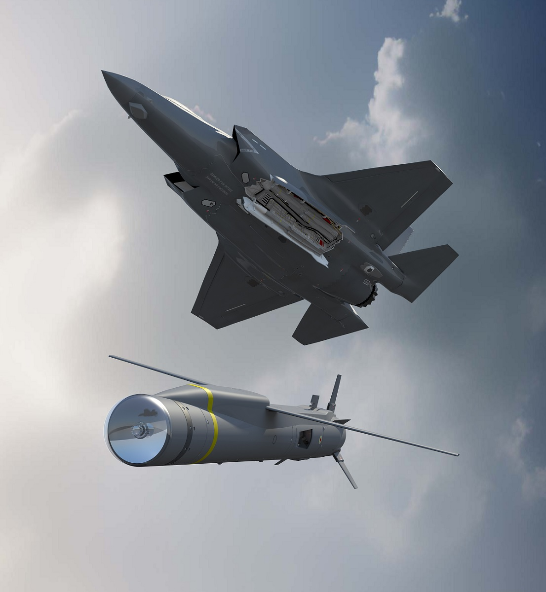 Here's how MBDA's ASRAAM, Meteor and SPEAR 5th generation missiles maximize F-35's advanced capabilities in both the air-to-air and air-to-surface missions