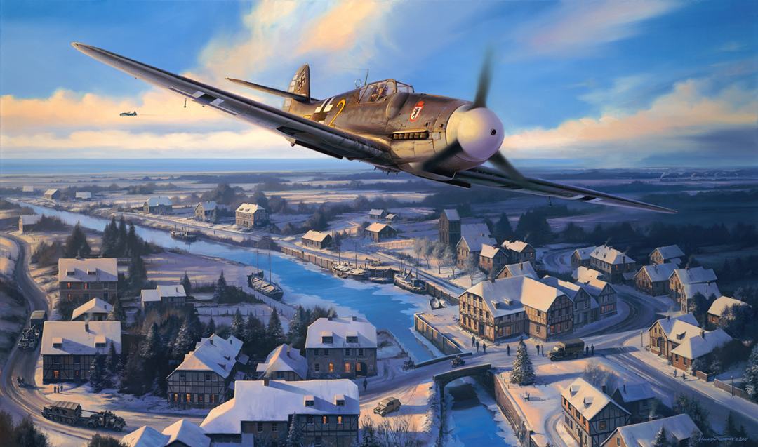 The epic story of the Luftwaffe Bf 109 pilot who saved the lives of the crew of a badly damaged American B-17 by escorting the crippled bomber over the North Sea