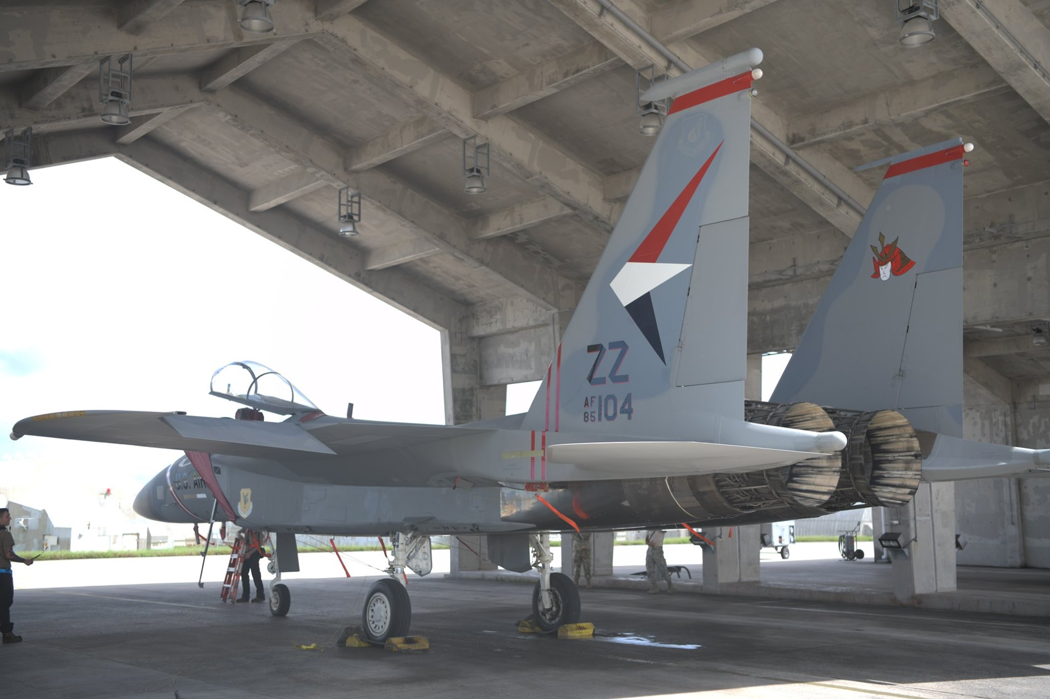 Kadena's F-15C MiG killer special color celebrates the 60th anniversary of the defense alliance between the US and Japan