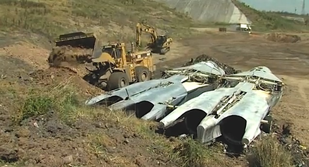 Here's why Australia buried 23 F-111s after the aircraft's retirement