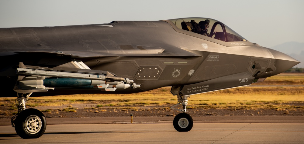 Here's how F-35A pilots are learning to fly the Lightning II on Beast Mode configuration