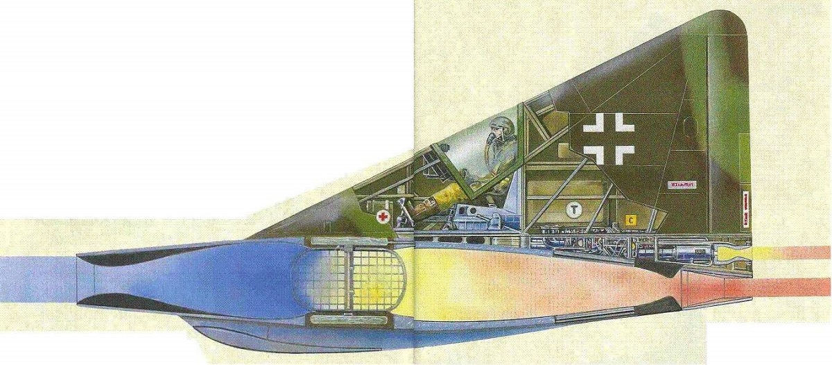 Here's why the Lippisch P.13a Mach 2.6 experimental ramjet-powered delta wing interceptor designed by Luftwaffe during WWII is the weirdest aircraft ever conceived