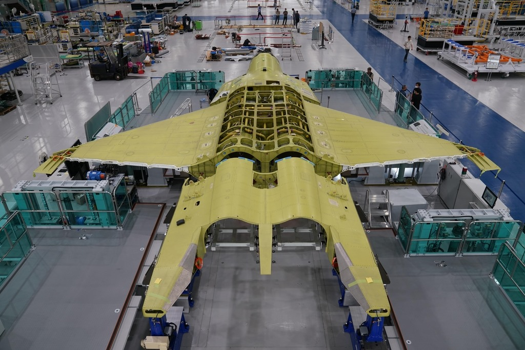 KAI starts final assembly of KF-X Next Generation fighter first prototype