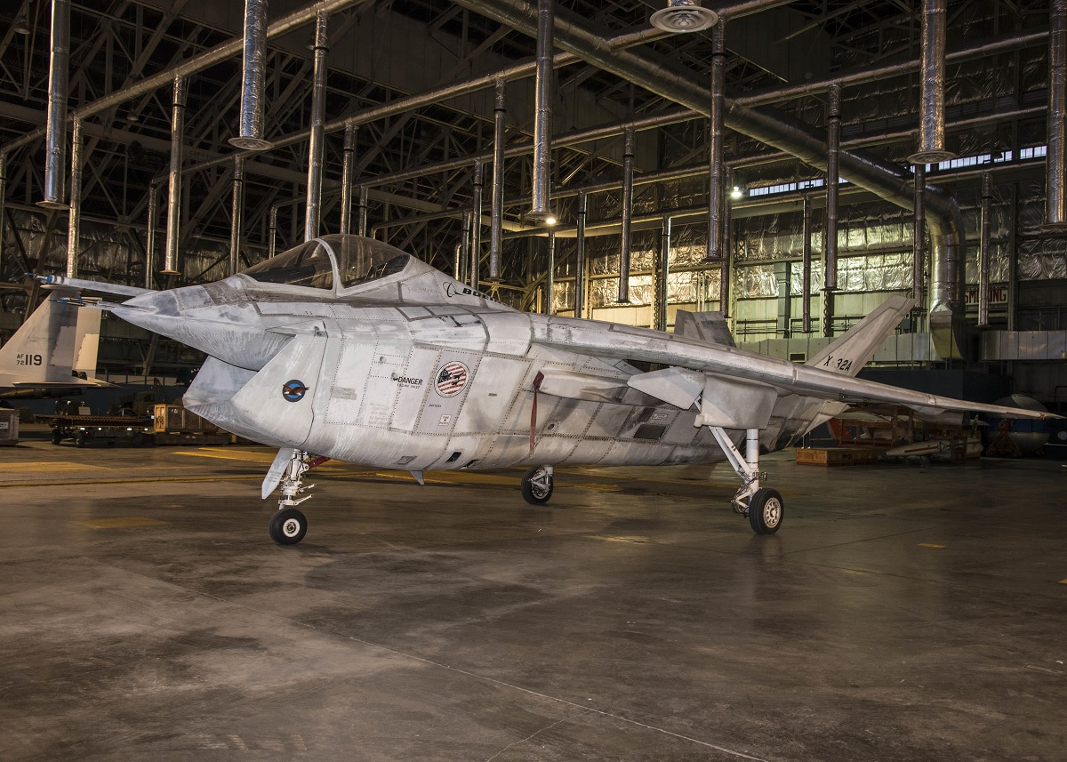 The X-32 was nicknamed 'Monica.' Why? Because she's got a big mouth, she's ugly and…she s***s. Like a certain White House intern who was famous for her oratory skills.