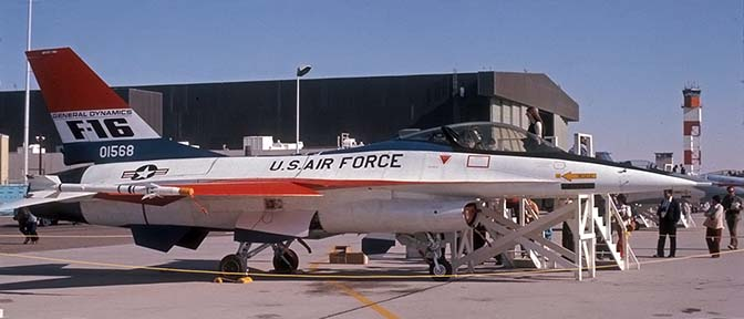 The story of the Longest Serving F-16: Development and Life of YF-16 #72-1568
