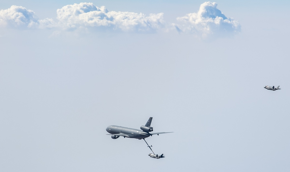 USAF and Israeli Air Force F-35s team up for Enduring Lightning III exercise