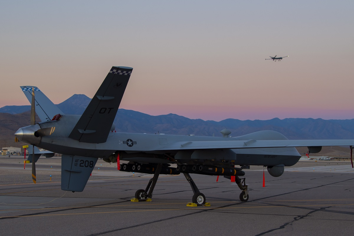 Software upgrade now allows MQ-9 Reaper UAV to carry 8 AGM-114 Hellfire missiles