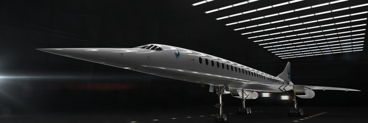 Video shows the rollout of Boom Supersonic XB-1, the demonstrator of Overture, the world's fastest airliner