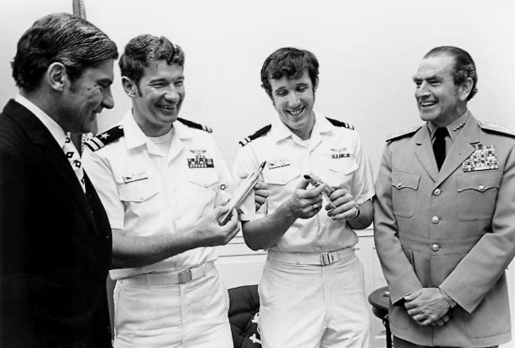 Leading jet ace Giora Even-Epstein on his friendship with US Navy's ace Randy Cunningham and on a tempting offer he received from Blue Angels CO