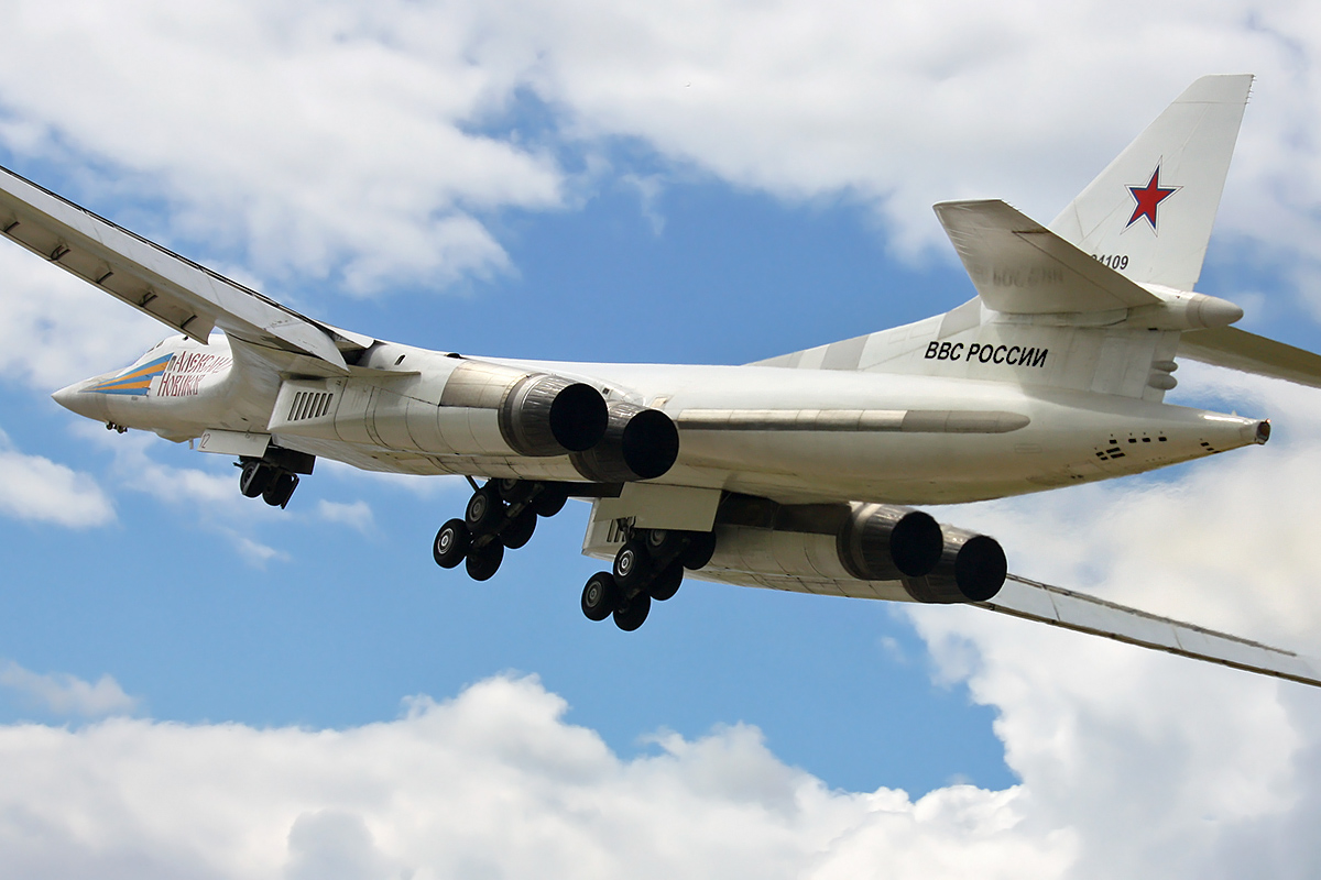 In Soviet Times the Tupolev Tu-160 strategic bomber established 78 world records officially recognised by the FAI
