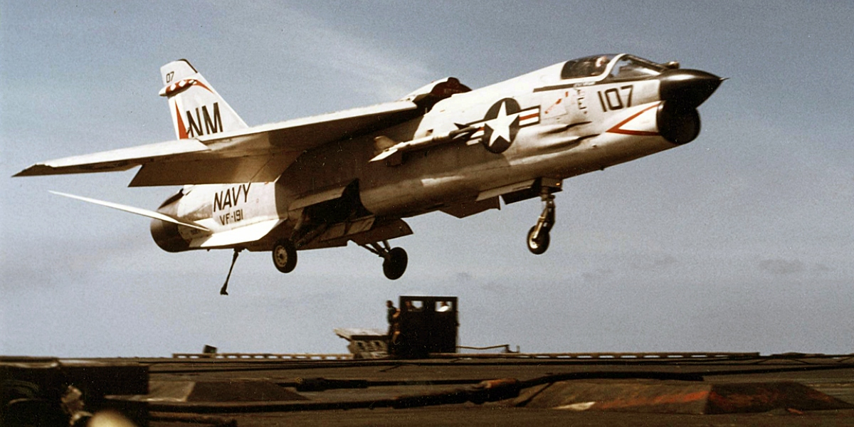Bringing Home the Legends: Carrier Landing in the F-8, F-4, and F-14