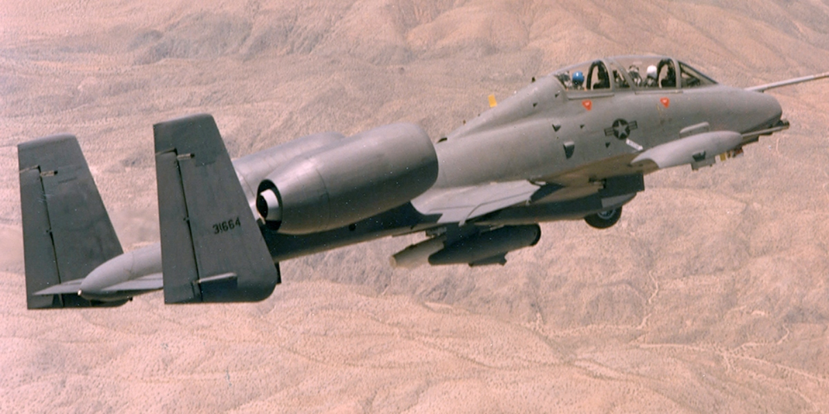 """""""Taking off in an A-10 is like being in an old pickup when you stomp on the gas."""" Former Warthog pilot describes his first flight aboard the mighty A-10."""