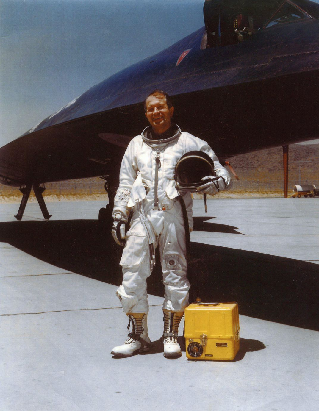 The A-12 program was so secret that CIA injected with sodium pentothal the first pilot that bailed out of an Oxcart to interrogate him after the crash
