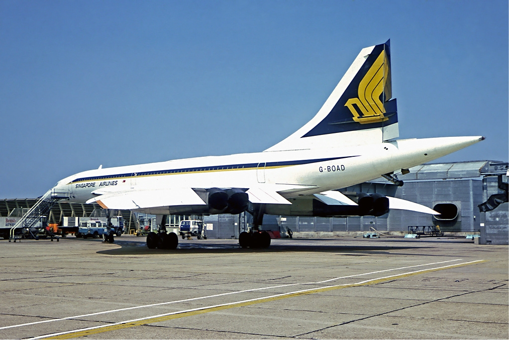 How Singapore Airlines became the third airline in the world (after British Airways and Air France) to operate Concorde supersonic airliner