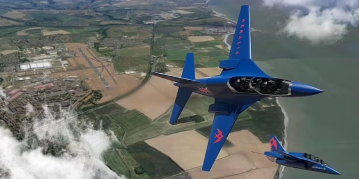 British firm Aeralis to win deal to build replacement for RAF Red Arrows Hawk T1 Trainers