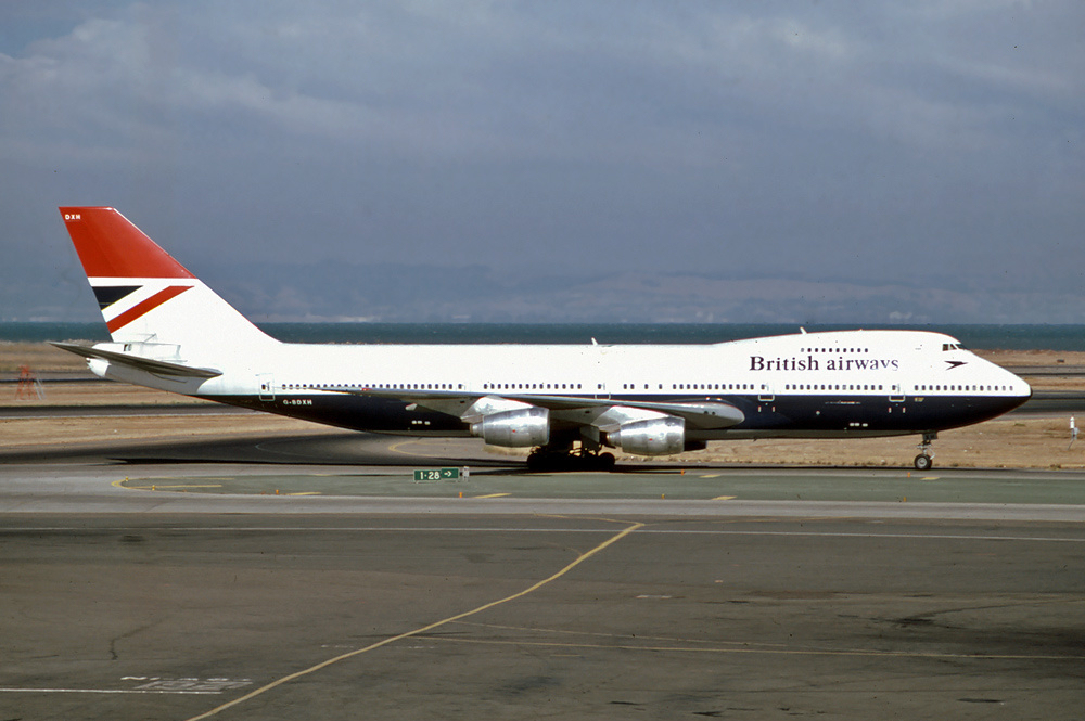 The story of British Airways Flight 9, the Boeing 747 that lost all four engines due to volcanic ash (yet it landed safely)