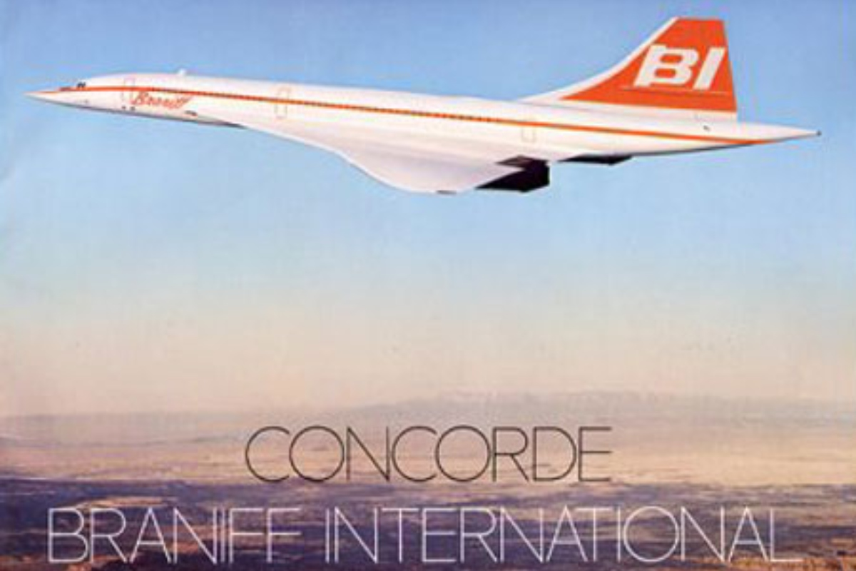 Braniff Airways was the only US Airline to operate the Concorde supersonic airliner (but at subsonic speeds)