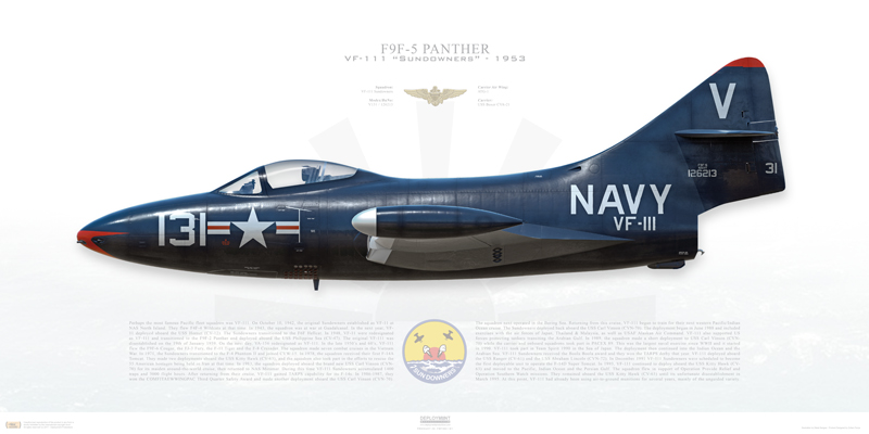The Legend of 'The Blue Tail Fly,' the Hybrid Panther built with a unique Combination of two Different F9Fs