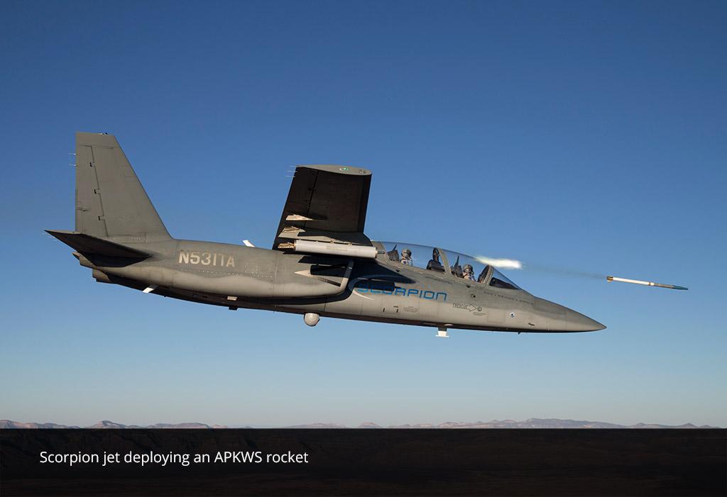 Scorpion Jet APKWS rocket