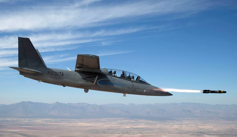 Scorpion Tactical Jet has successfully completed its first