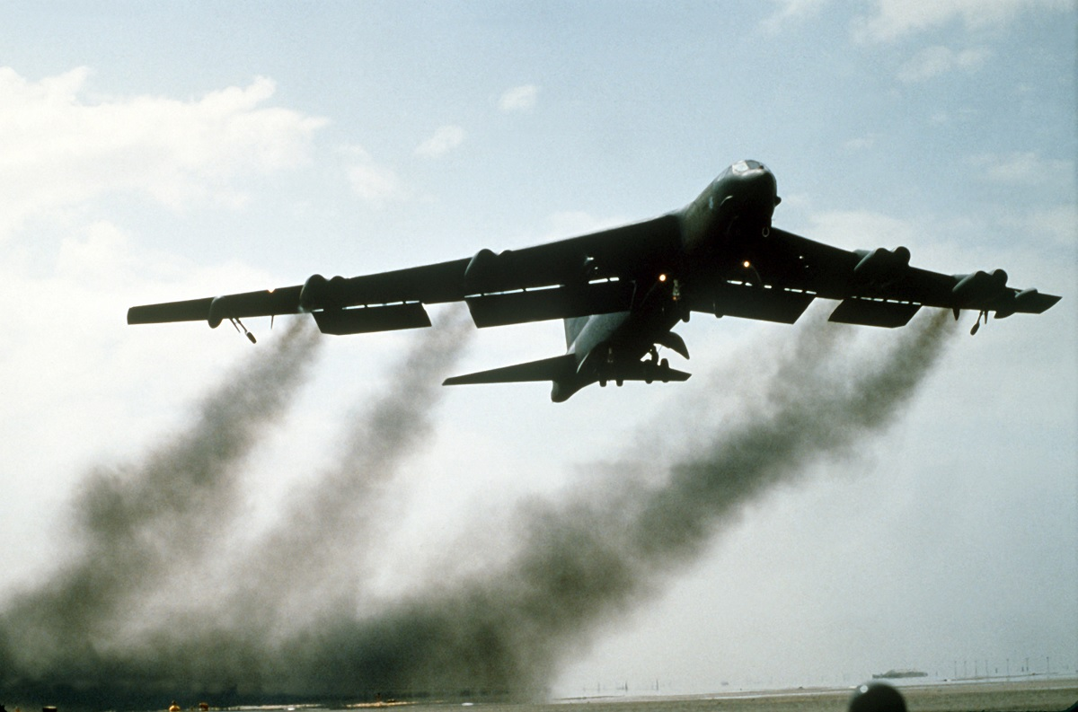 BUFF driver explains how it was flying the B-52 on a low level training sortie