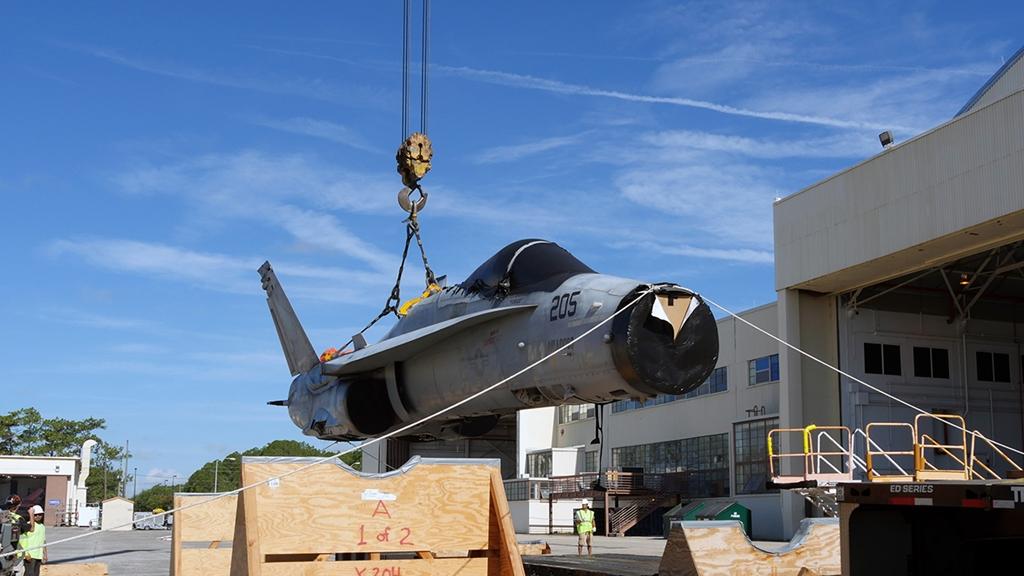 F/A-18C+