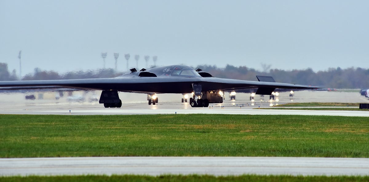 B-2 Spirit Take-Off