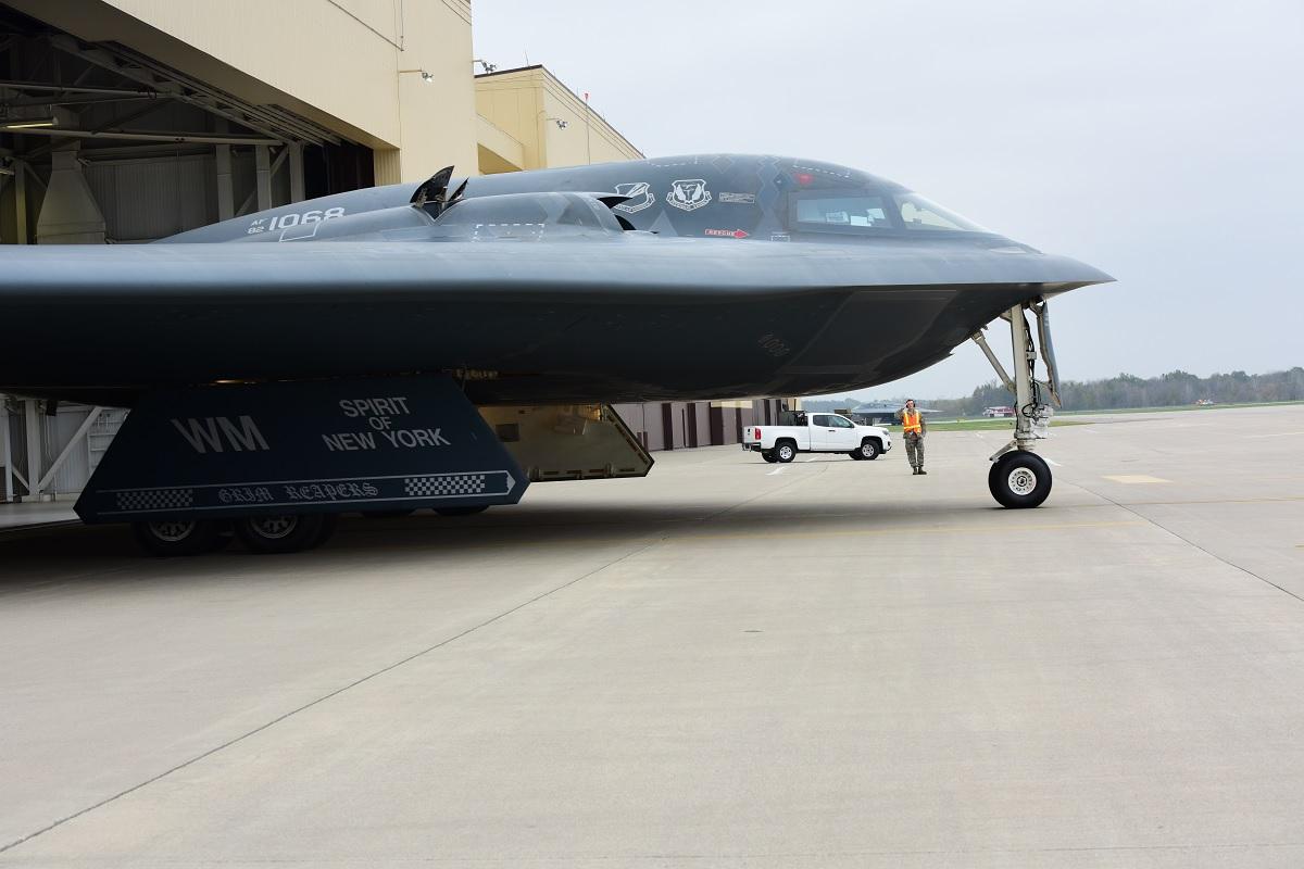 B-2 Spirit Taxy