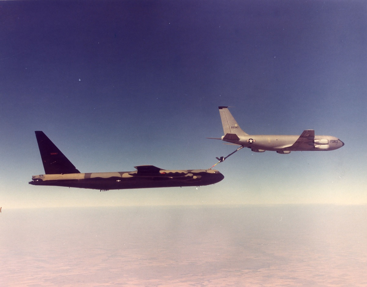 Remembering Operation Chrome Dome, the 1960's airborne alert missions flown by B-52 strategic bombers armed with thermonuclear weapons