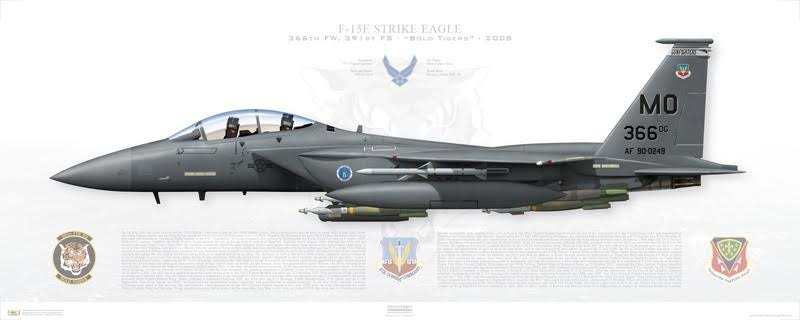 F-15E Print
