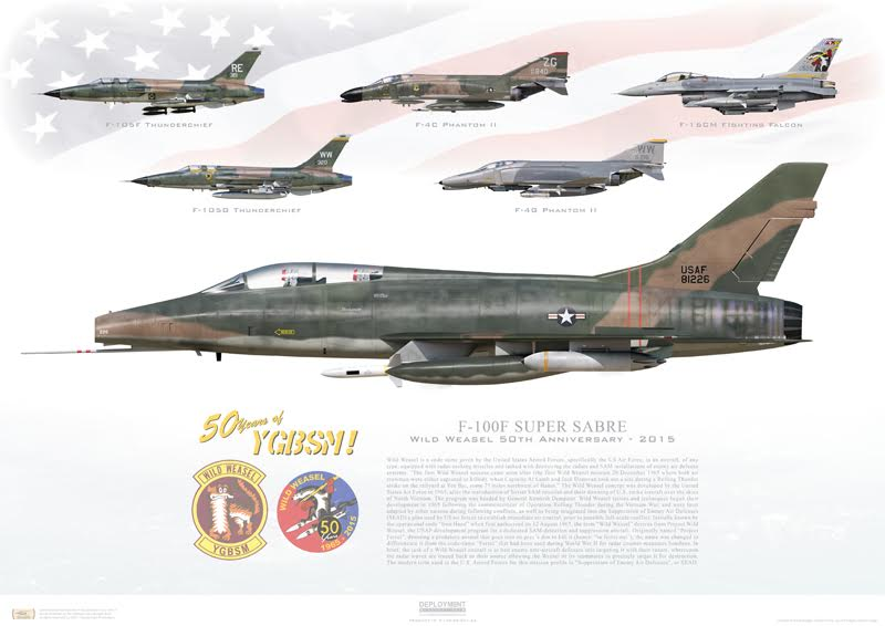 "The F-100 Super Sabre in Vietnam and the hazardous 'Night Owl"" CAS missions"