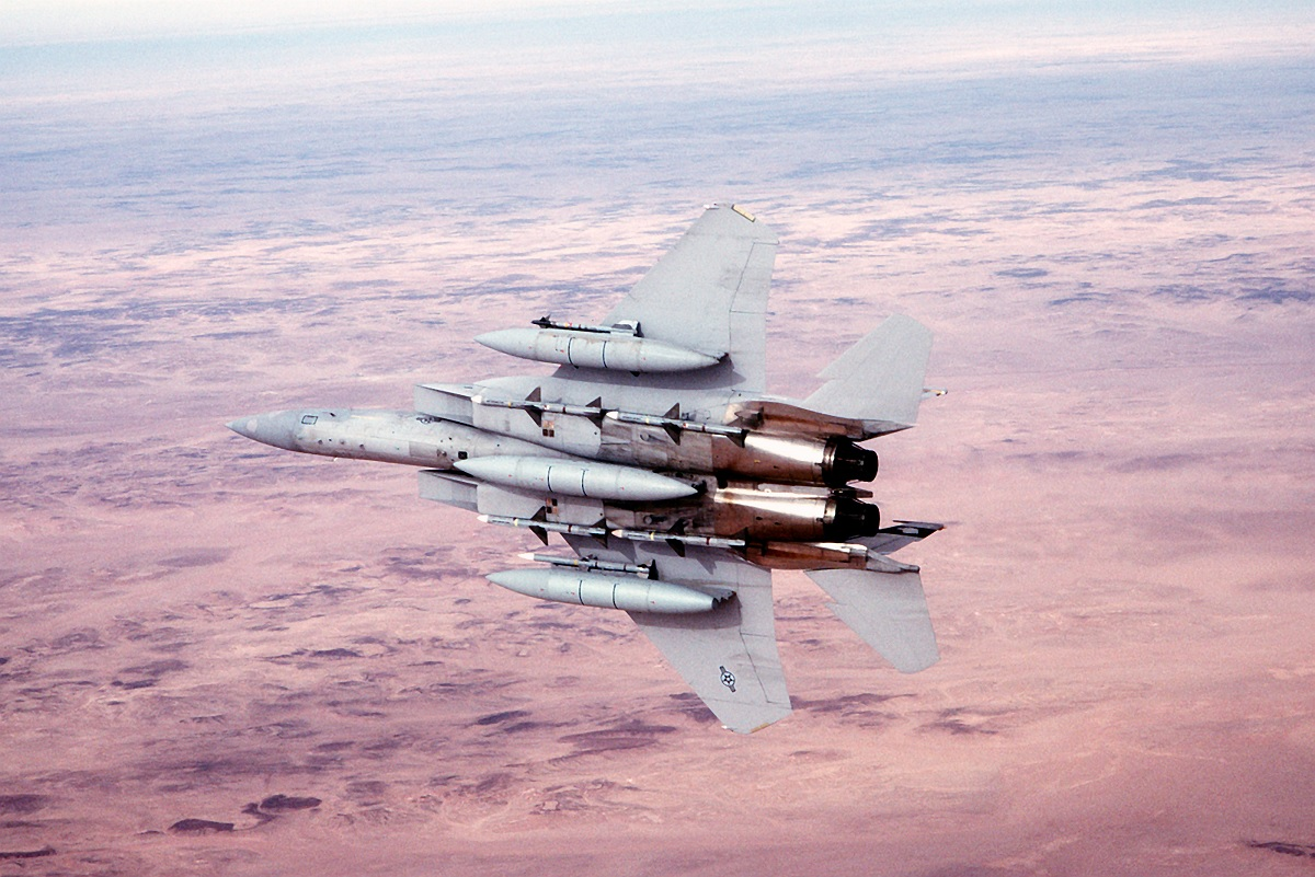 Here's why Cold War USAF F-15C Eagle drivers loved RCAF CF-18's fake canopy