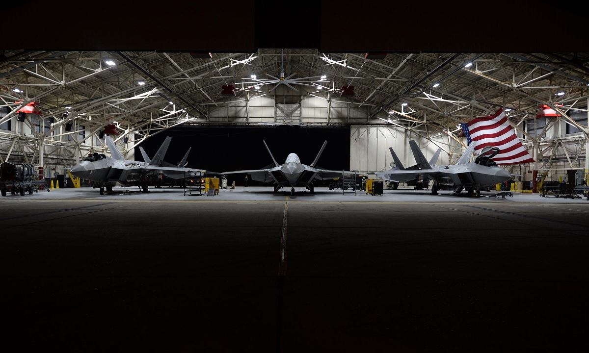 F-22 stealth fighters left behind at Tyndall AFB damaged beyond repair by Hurricane Michael