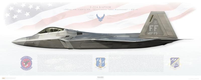 F-22 print