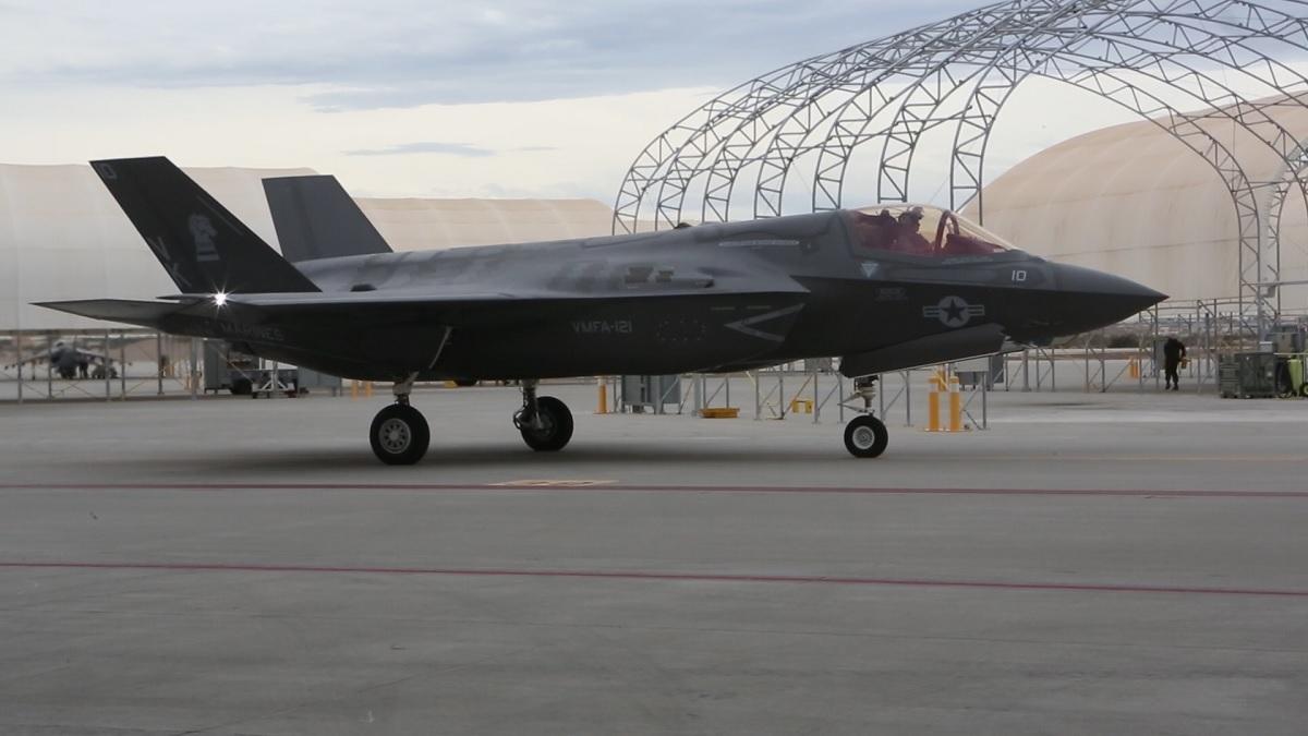 Kết quả hình ảnh cho F-35, VMFA-121