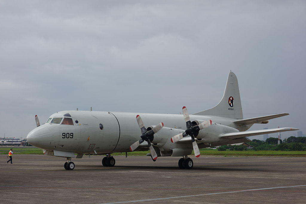republic of korea navy p 3 orion asw aircraft accidentally