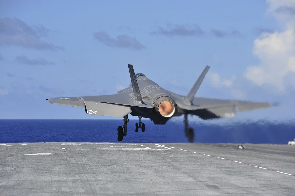 New HASC report finds that F-35C lacks the range to strike enemy targets