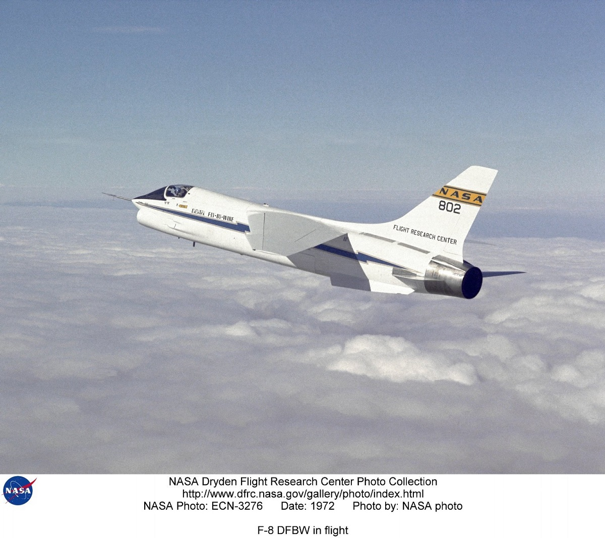 A QUICK LOOK AT THE MODIFIED F-8 CRUSADER THAT SERVED AS TESTBED FOR ...