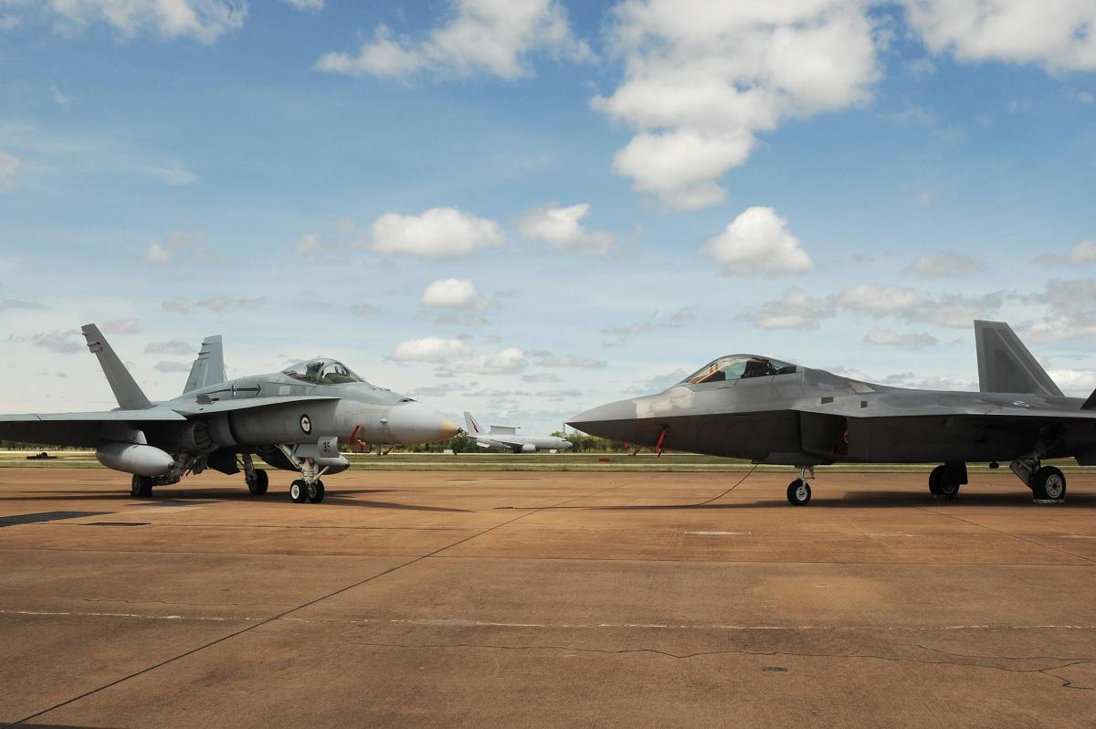 F-22 pilot from Australia: from RAAF Hornet to USAF Raptor