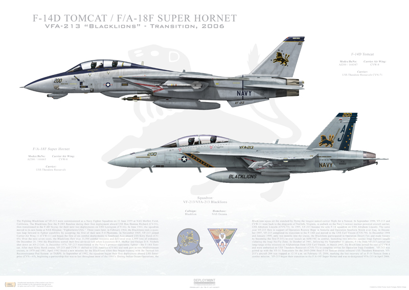 VF-213 to VFA-213 Print